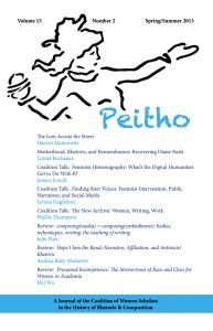 Volume 15 | Issue 2: Spring/Summer 2013